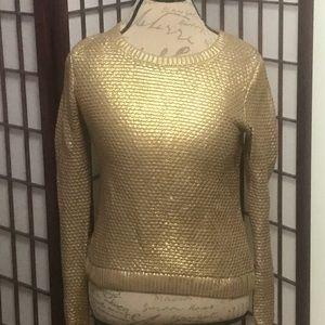 H&M gold Sweater
